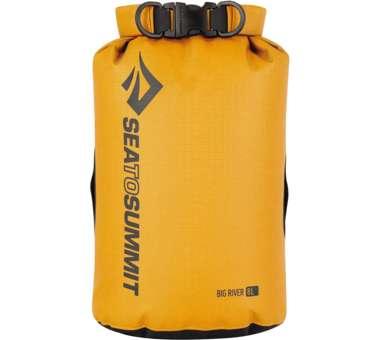 Big River Dry Bag 8 Liter / gelb