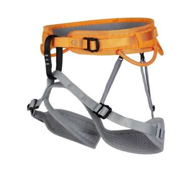 Klettergurt Ray grey/orange | XS