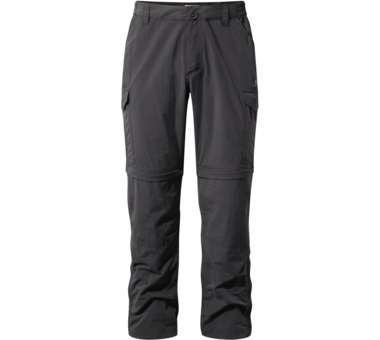NosiLife Convertible II Trousers Men black pepper | INCH 30