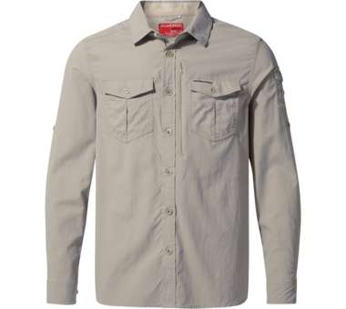 NosiLife Adventure LS Shirt Men parchment | XXL