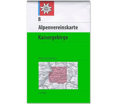AV-Karte 8 - Kaisergebirge