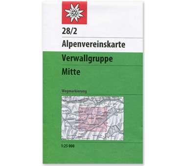 AV Karte 28/2 - Verwallgruppe, Mitte