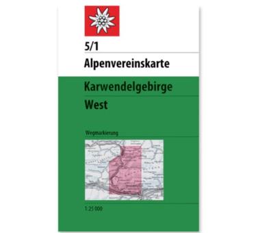 AV-Karte 5/1 Karwendelgebirge West