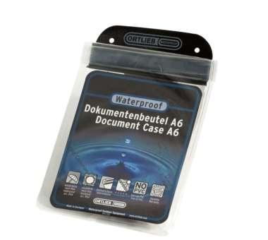 Doku-Beutel - transparent A6