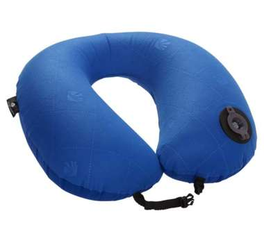 Exhale Neck Pillow - blue sea