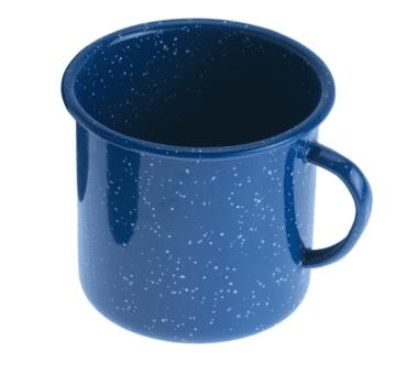 Emaille Tasse blau | 350 ml