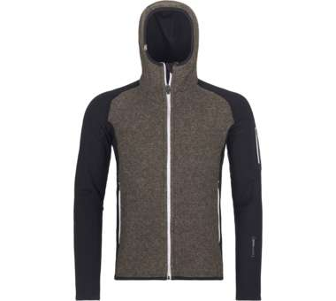 Fleece Plus Classic Knit Hoody Men