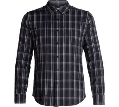 Compass Flannel LS Shirt Men