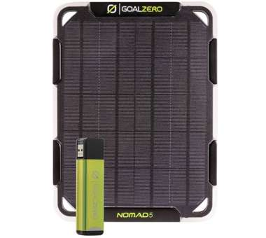Nomad 5 Solar Kit