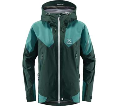 Roc Spire Jacket Women Mineral/Willow Green | L