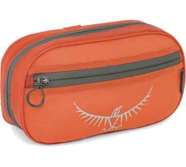 Ultralight Washbag Zip poppy orange