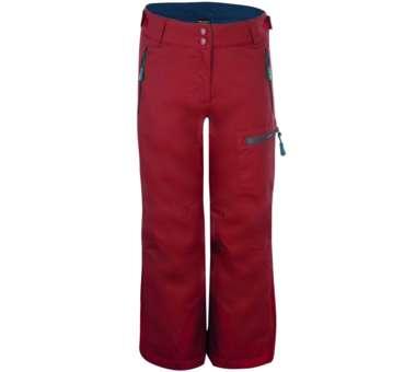 Kids Hallingdal Pant rusty red/mystic blue   128