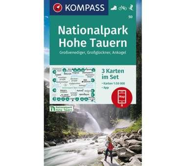 Wanderkarte Nationalpark Hohe Tauern - 3 Karten
