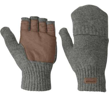 Lost Coast Fingerless Mitts Men