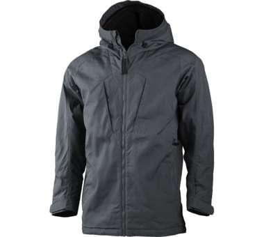 Habe Pile Jacket charcoal | S