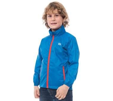 Origin Waterproof Packable Jacket blue | 2/4 Jahre