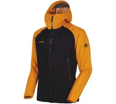 Masao Light HS Jacket Men black/gold | S
