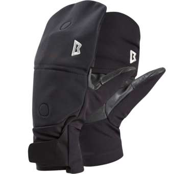 G2 Alpine Combi Mitt black | XS