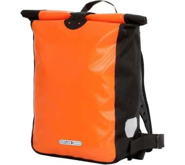 Messenger-Bag orange-black