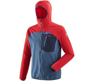 Trilogy One Cordura Hoodie indian/rouge | S