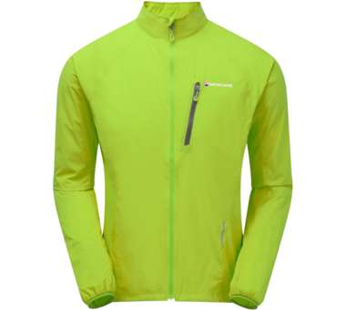 Featherlite Trail Jacket laser green | S