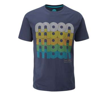 Men's Fade Logo T-Shirt indigo | S