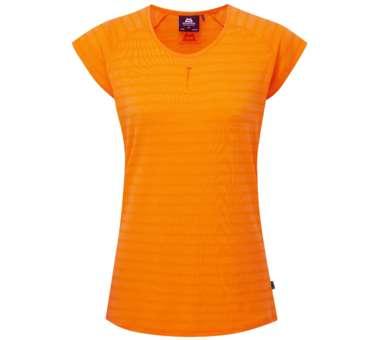 Equinox Tee Women orange sherbert stripe | UK 14