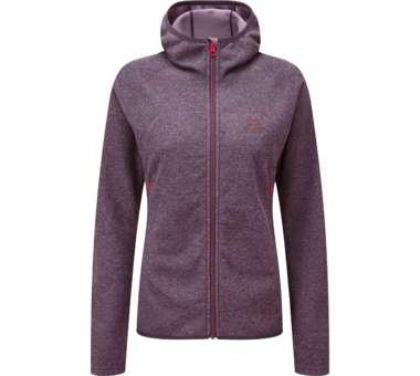 Kore Hooded Womens Jacket blackberry | engl 10