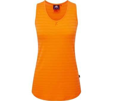 Equinox Vest Womens Orange Sherbert Stripe | engl 12