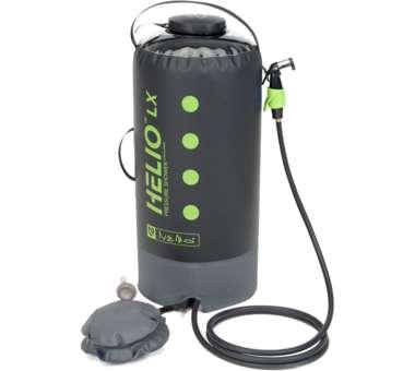 Helio LX Pressure Shower 22L - black