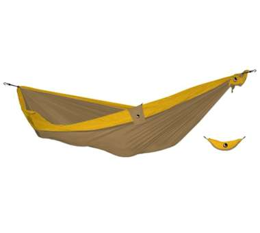 Original Hammock Hängematte brown / dark yellow
