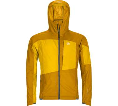 Merino Windbreaker Men yellowstone | M