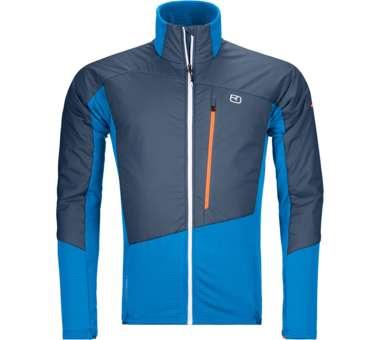 Westalpen Swisswool Hybrid Jacket Men safety blue | S