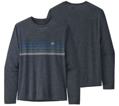 Long-Sleeved Capilene Cool Daily Graphic Shirt
