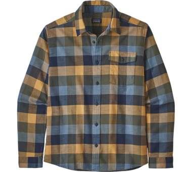 LS Lightweight Fjord Flannel Shirt new navy | L