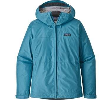 Torrentshell Jacket Women mako blue   XS