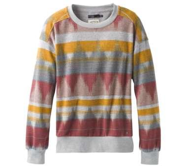 Cozy Up Printed Sweatshirt Women dark mauve eldorado | L
