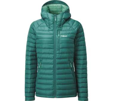 Womens Microlight Alpine Long Jacket atlantis | engl 10
