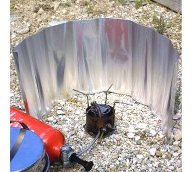 Aluwindschutz rollbar 24 cm