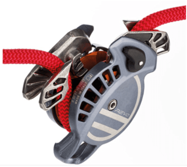 Revo Belay Device - gunmetal