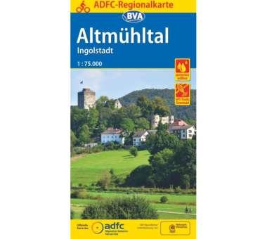 Altmühltal / Ingolstadt Fahrradkarte