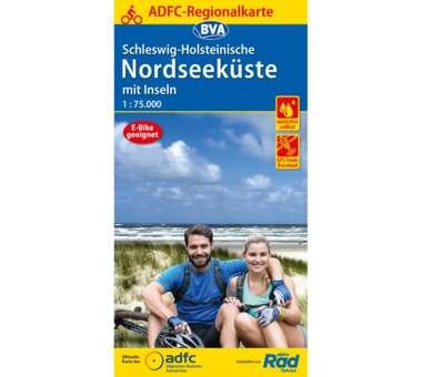 ADFC Regionalkarte Schleswig Holstein