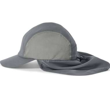 Bug Barrier Convertible Sun Cap Lt pewter | S/M