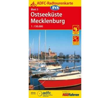 Ostseeküste / Mecklenburg Fahrradkarte