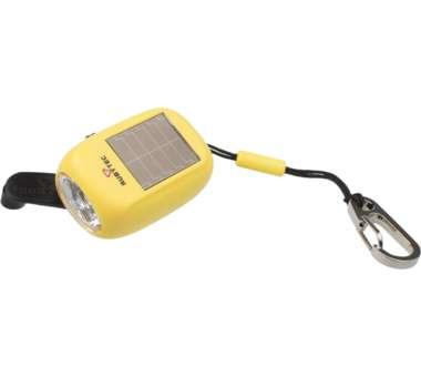 KAO Solar Kurbel Lampe - Clip yellow