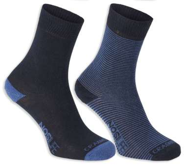 NosiLive Travel Socks Twin Pack Women