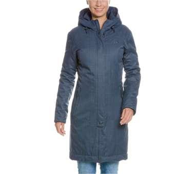 Floy Womens Coat matt-blue | 44
