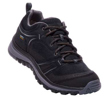 Keen Terradora Leather WP Shoes Women Black/Steel Grey Schuhgröße US 6,5