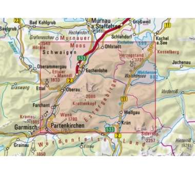 AV-Karte BY 9 - Estergebirge Herzog