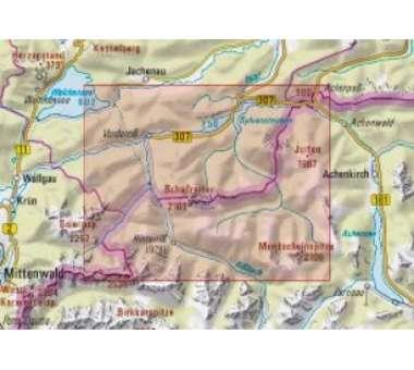 AV-Karte BY 12 - Karwendelgebirge Nord
